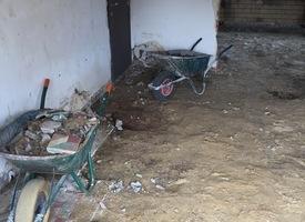 Uitbreken van ondergrond & Beton - Chapewerken Schelles Antwerpen